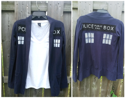Doctor Who - Tardis Cardigan FOR SALE by AwesomeTikiWiki