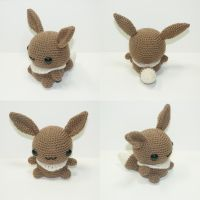 Eevee by Heartstringcrochet
