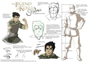 Legend of Korra Studies: Bolin by sukieblackmore