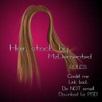 Hair_Stock_03 by MzDemented