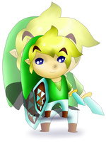 Toon Link :3 by Xnessax