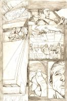 UnDead End #1 pg. 8 pencils by J-WRIG