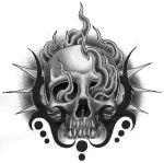 Tribal skull by Boosted