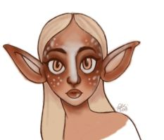 Fawn Girl color by rararachelmarie
