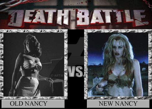 DEATH BATTLE: Old Nancy Vs New Nancy by ARTIST-SRF