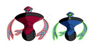 Computron + Omnitrix version by Zimonini