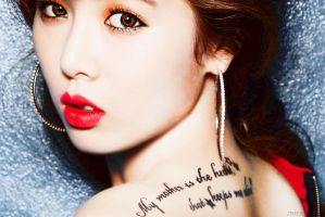 Hyunah - 4minute by Zimea