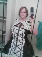 new dress by cargirl64