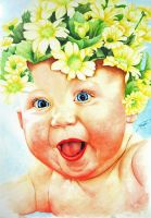 Happy Baby by giorjoe