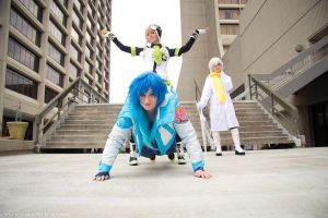 Momocon 2013 - DMMd Dramatical Murder Wrestling by stillreflection