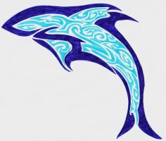 dolphin edited by shayde1