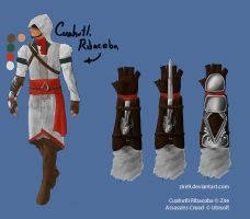 Assassins Creed Cuahutli Ribacoba Concept by Zire9