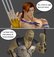 Injustice: Vega vs Baraka by xXTrettaXx