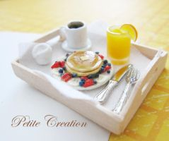 12th scale breakfast in bed5 by PetiteCreation