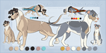 STS Dogs- Cas and Dash by ShockTherapyStables