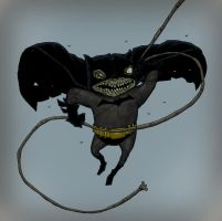 Batman Zombie swinging by Axel13-Gallery