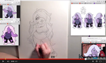 Amethyst Speed Drawing by WhispersInTheMirror