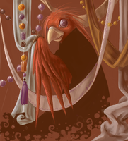 bird and the beads by rachelle