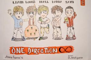 One Direction by AntoFigueroa