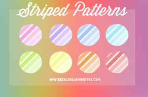 Striped Patterns by HipsterColors