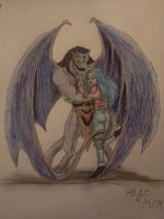 Goliath and Elisa by CowgirlMickey
