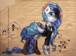 Clockwise Whooves - Rain by My-Magic-Dream