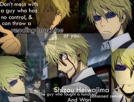 Shizou Wallpaper Two, Durarara by OokamiXxAkki