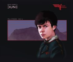 House Atreides: Paul Atreides by Deimos-Remus