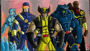 X-MEN by lijohn321