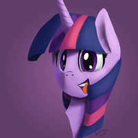 Twilight Bust by DarkFlame75