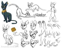 Shadow modelsheet by moonmystique