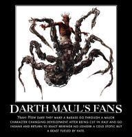 Darth Mauls's fans by jswv