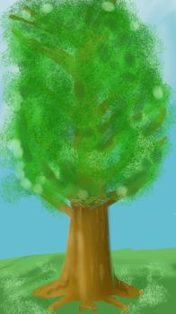 humble tree by thecartooncynic