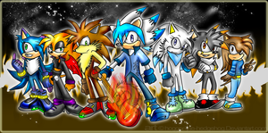 Cover for DemonSonicsChannel:: by SpyxedDemon