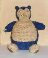 Snorlax Plush by Craftigurumi