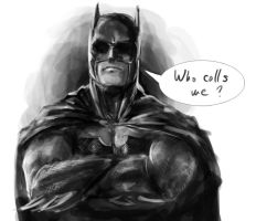 Batman by Kenobi-wan
