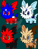 Lillipup Adopts by MetasActReon