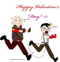 Happy Valentines Day by Shinigami-Spartan