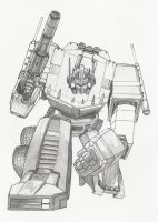 Optimus Prime by IcePhoenixX