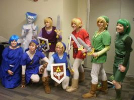 project collaborative zelda at ohayocon by PotTori