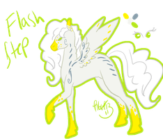 Flash Step Reference Sheet by Kama-ItaeteXIII
