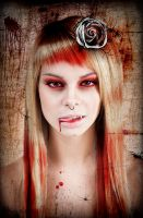 Portrait of a Vampire by katmary