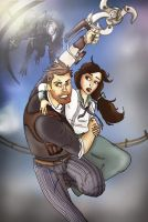 Escape From Songbird - Bioshock Infinite by toughraid3r37890