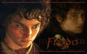 Frodo Ring Wallpaper by JaimeLouise