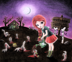 Zombie farm alternate version by FactitiousTruth
