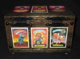 Box 54. Garbage Pail Kids 1. Back. by WesleyYoung