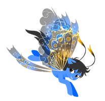 Art Trade: Stormy Wings by FuyusFox