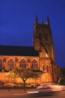 St Mary's at night by scottish