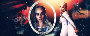 mother of dragons by Super-Fan-Wallpapers