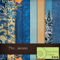 Mrs.Jackson-paper street designs by paperstreetdesigns
